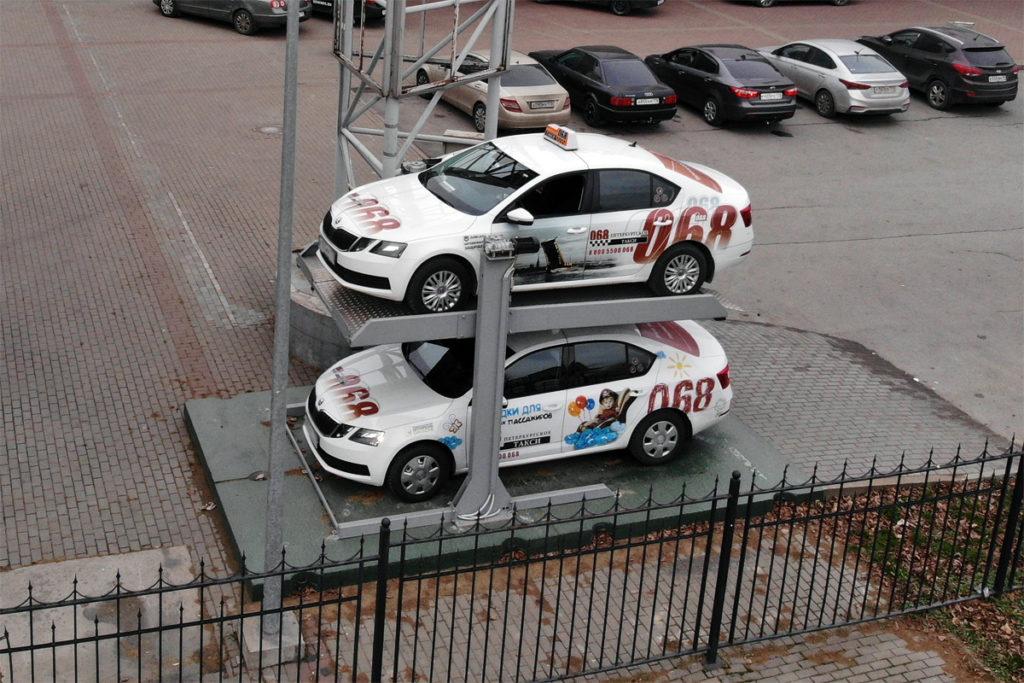 ППР3 зависимый уличный подъемник парковочный модуль